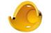 Cycloc Solo Recycle pyöräteline seinään, keltainen